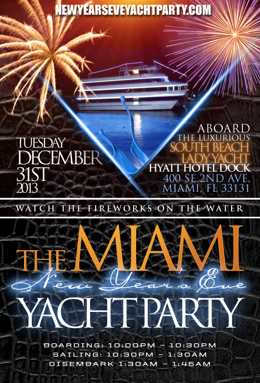 Tickets for MIAMI NEW YEAR'S EVE YACHT PARTY TO BRING IN ...