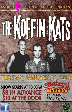 KOFFIN KATS LIVE IN BECKLEY WV!!!!