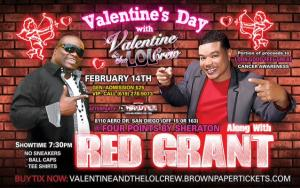 Valentine's Day with Valentine & the LOL Crew