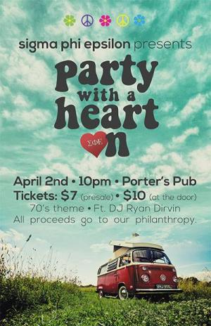 Sigma Phi Epsilon Presents: Party With A Heart On