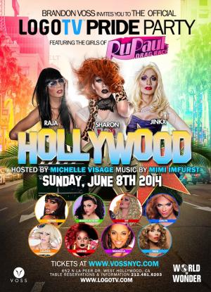 LogoTV's Drag Race Pride Party: Hollywood