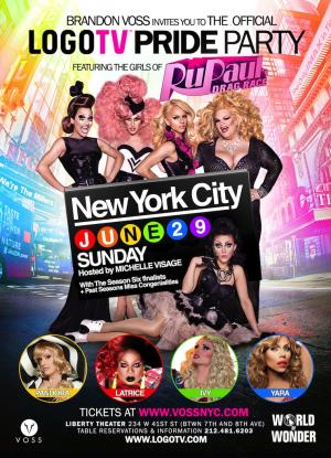LogoTV's Drag Race Pride Party: NYC