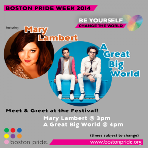 Boston Pride Festival - Meet & Greet with artists