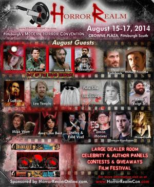 Horror Realm Summer 2014 Convention
