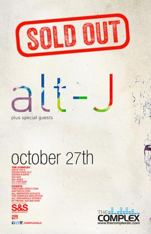 alt-J - SOLD OUT