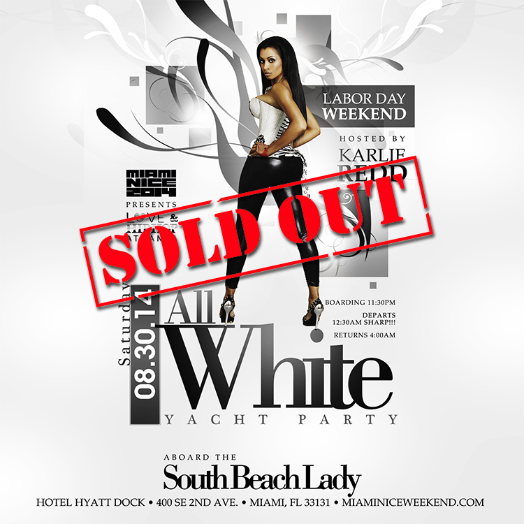 Miami Nice 2014 Labor Day Weekend Yacht Party