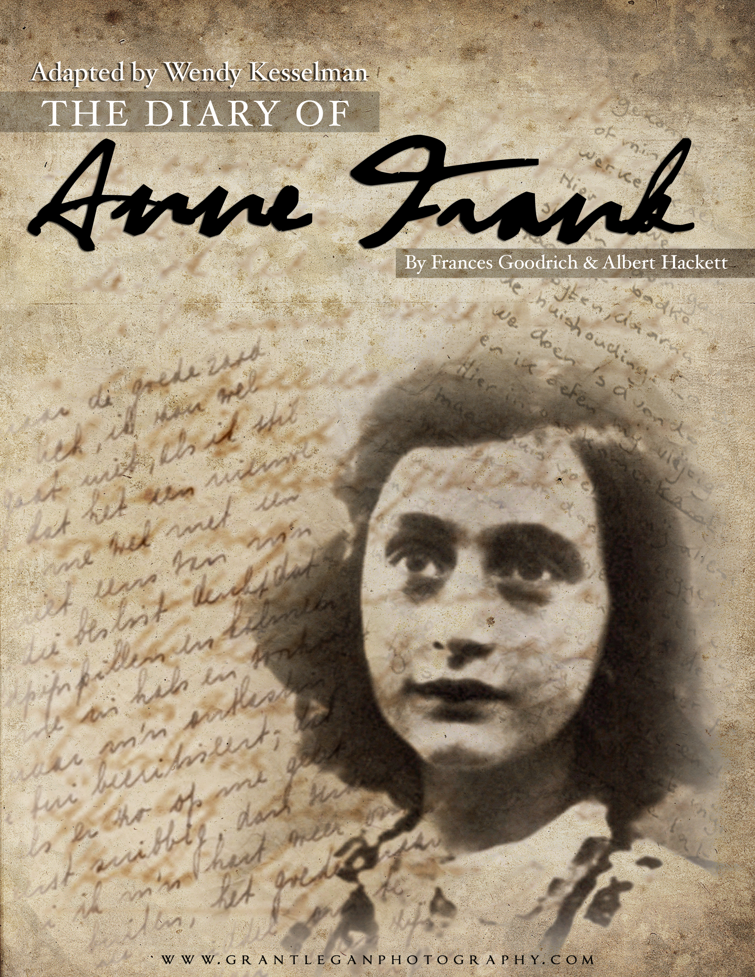 Tickets for the diary of anne frank in san mateo from showclix for Anne gellert