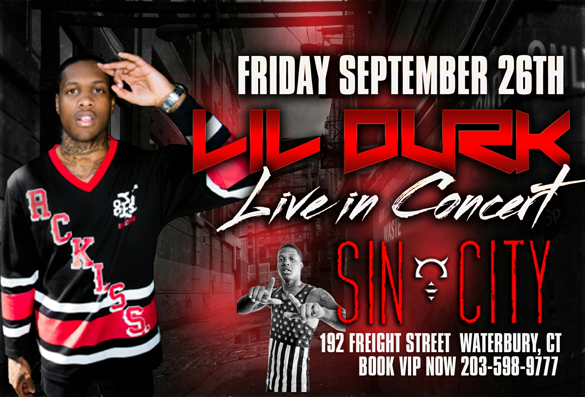 LIL DURK LIVE AT SIN CITY