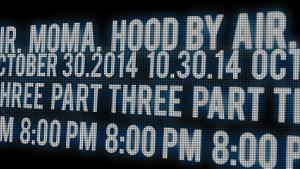 MoMA PopRally Presents Hood by Air: Id