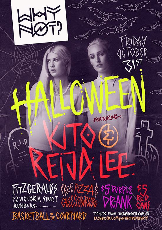 Why Not? Halloween Ft  Kito & Reija Lee