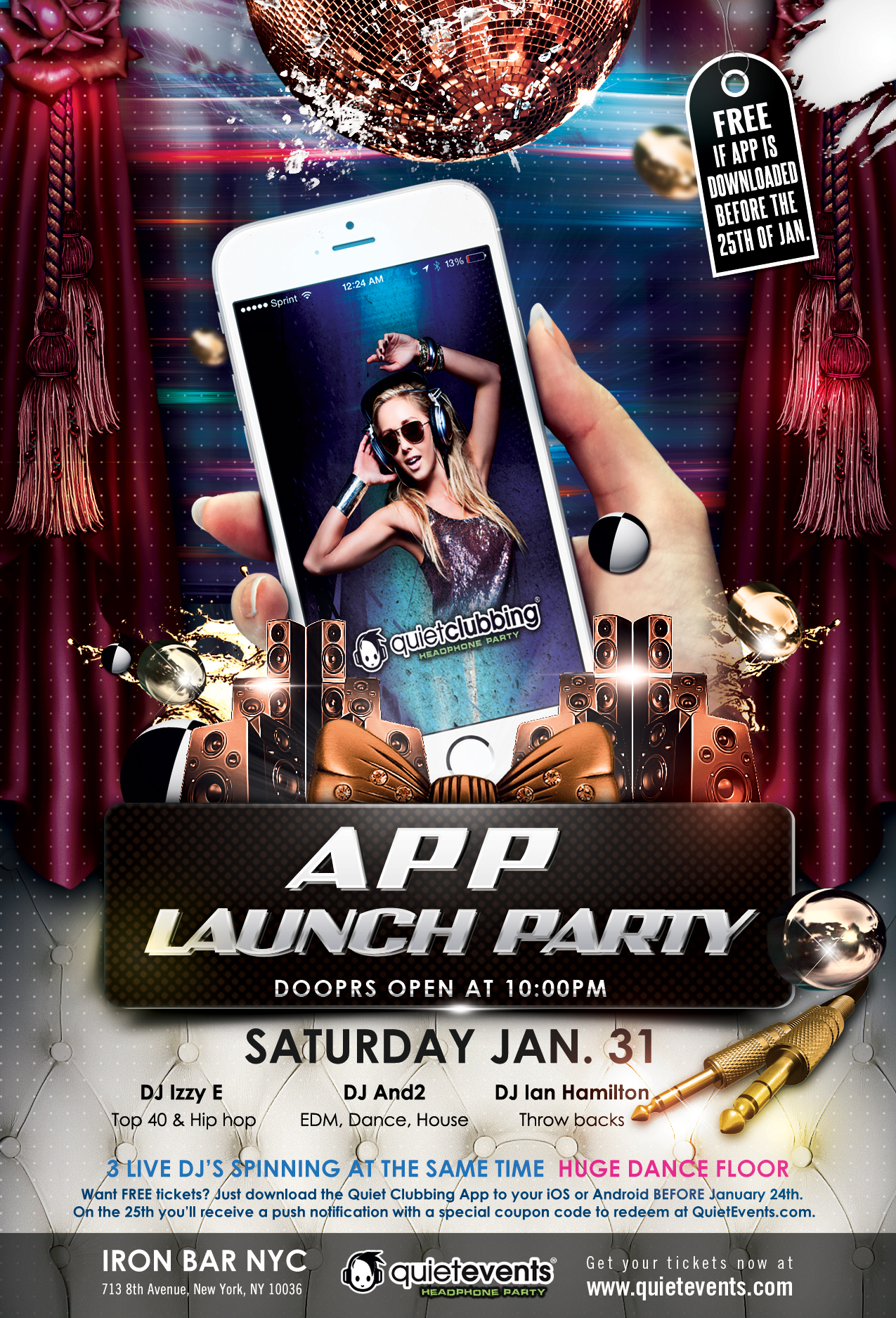 tickets for app release party in new york from showclix