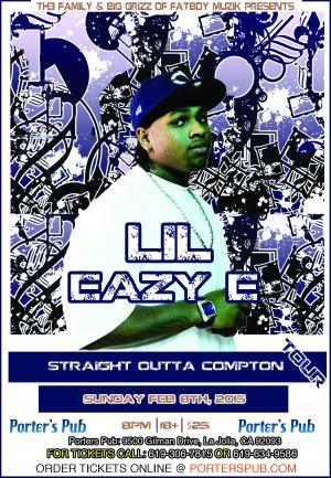 Lil Eazy E Straight Out of Compton Tour