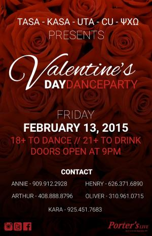 TASA Presents: Valentine's Day Dance Party