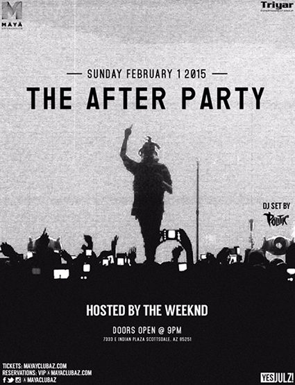 f2f42b91c2a Tickets for THE AFTER PARTY HOSTED BY THE WEEKND in ...
