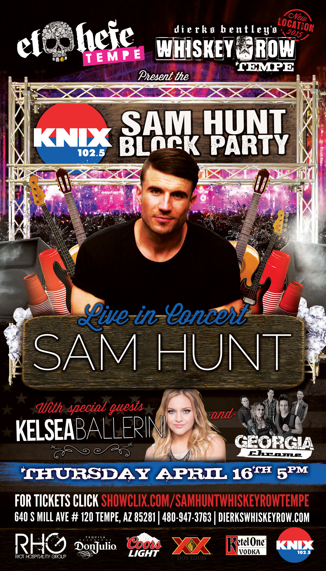 Tickets For Knix Sam Hunt Block Party In Tempe From Showclix