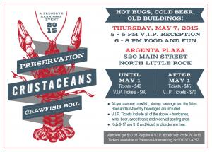 2015 Preservation Crustaceans Crawfish Boil