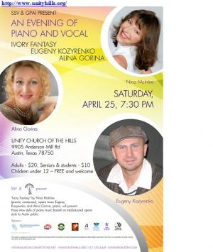 An Evening of Piano and Vocal