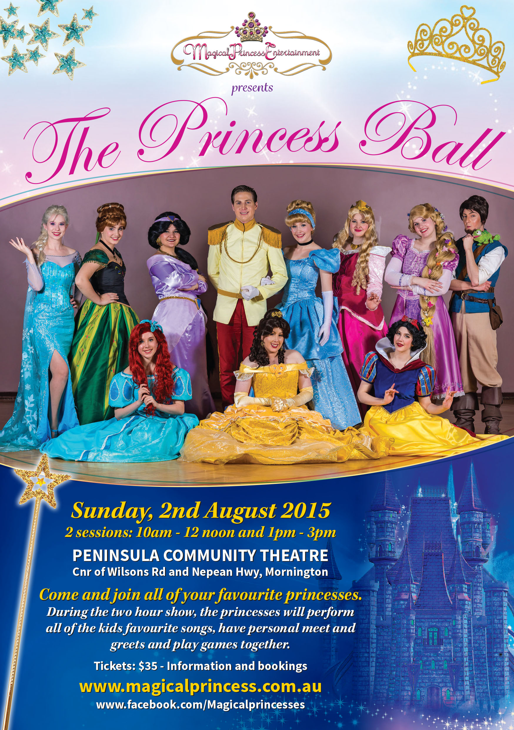 Tickets For Mpe Presents The Princess Ball In Mornington From