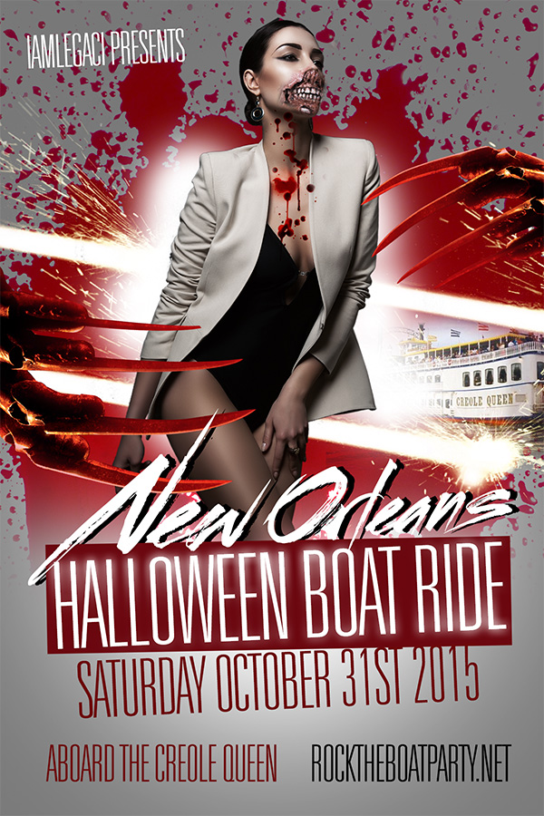 rock the boat 2015 new orleans halloween party - New Orleans Halloween Parties