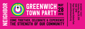 Greenwich Town Party: 2016 Neighbor