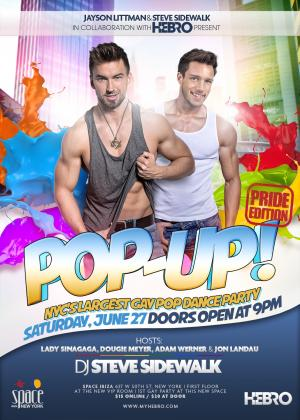 Hebro Pride Pop-Up! at Space Ibiza
