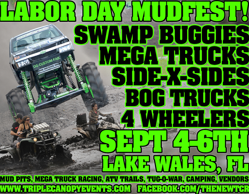LaborDay MUDFEST! & Tickets for LaborDay MUDFEST!!! in Lake Wales from ShowClix