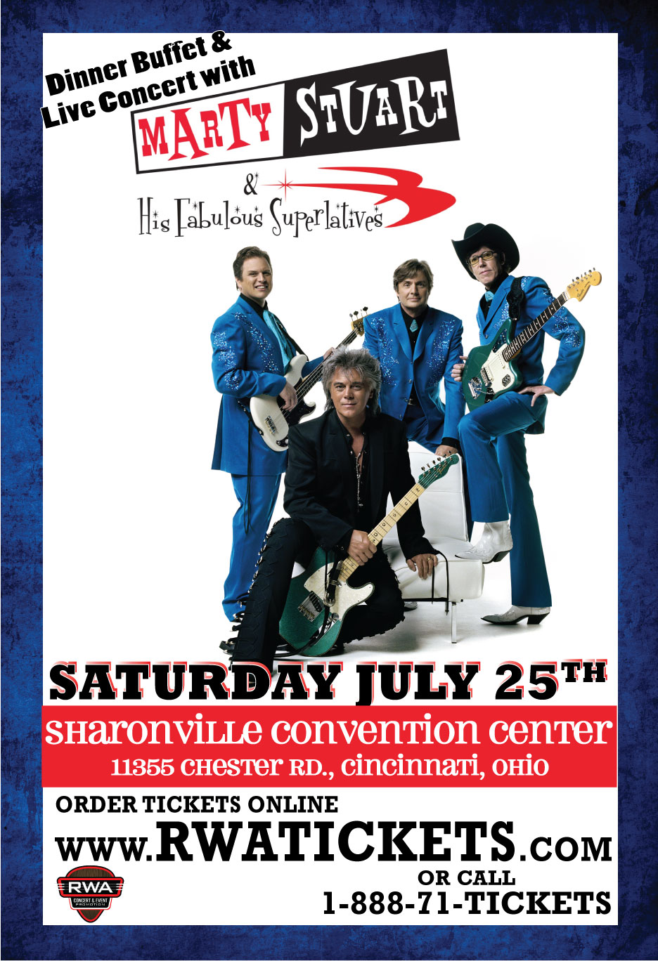 tickets for marty stuart his fabulous superlatives live in cincinnati from showclix. Black Bedroom Furniture Sets. Home Design Ideas