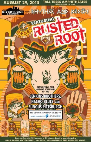 Rhythm and Brews featuring Rusted Root