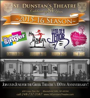 St. Dunstan's 2015-16 Season Ticket