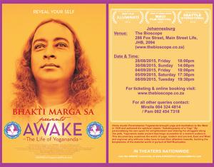 Bhakti Marga Presents: AWAKE