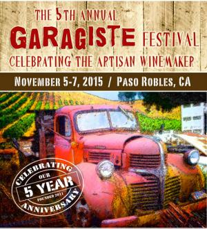 5th Annual Paso Garagiste Festival