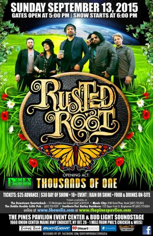 Rusted Root with Thousands of One