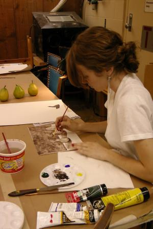 Acrylic Painting Class with Kyle Renell