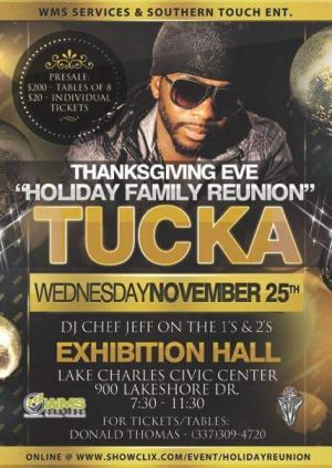 Holiday Family Reunion w/TUCKA