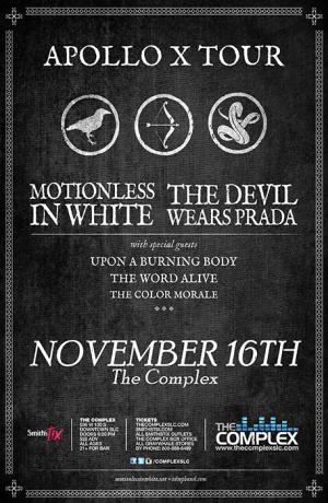 Motionless In White & The Devil Wears Prada