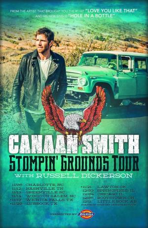 Canaan Smith Stompin' Grounds Tour