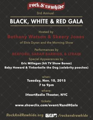 3rd Annual Black, White & Red Gala