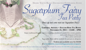 Sugarplum Fairy Tea Party