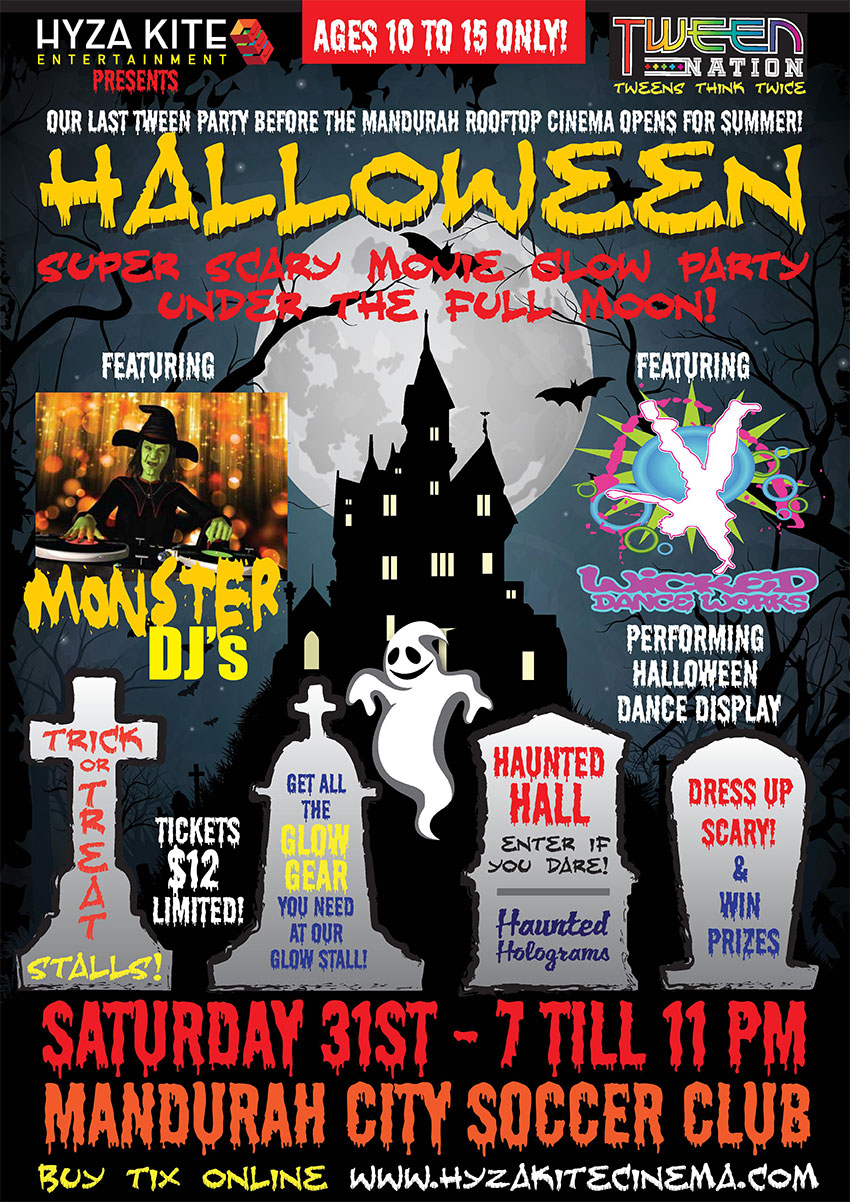 Tickets for HALLOWEEN DANCE PARTY/MOVIE NIGHT in HALLS HEAD from ...