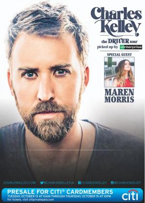 Charles Kelley The Driver Tour VIP Experience