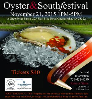 Oyster & South Festival