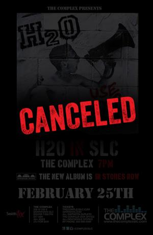 *Canceled* H2O - Use Your Voice Tour