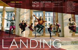 LANDING : Fall 2015 Senior Project Concert