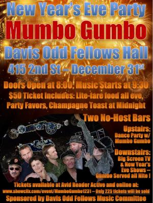 New Year's Eve w/ Mumbo Gumbo