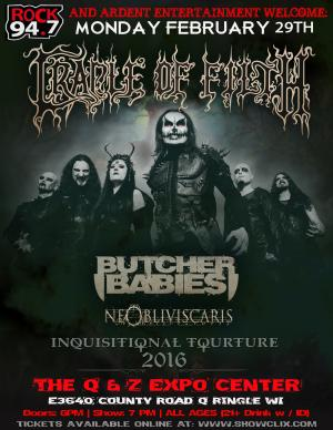 CRADLE OF FILTH Wsg. BUTCHER BABIES