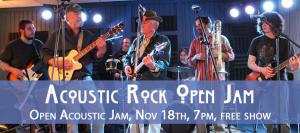 Acoustic Rock Open Mic Night