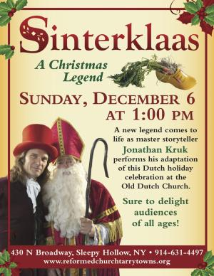 Sinterklaas: A Christmas Legend