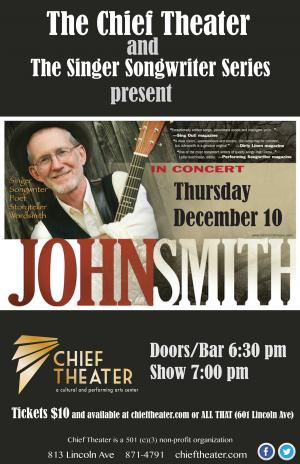 Songwriter Series presents: Johnsmith