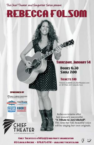 Songwriter Series  presents: Rebecca Folsom