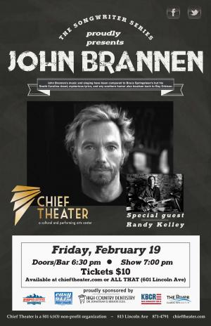 Songwriter Series  presents: John Brannen